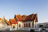 The Marble Temple (Wat Benchamabophit)  Bangkok  Thailand  Southeast Asia  Asia