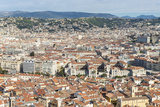 Cityscape Skyline View over the City of Nice  French Riviera