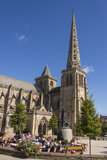 Saint Tugdual Cathedral  Treguier  Cotes D'Armor  Brittany  France  Europe