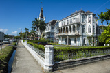 Colonial Building in Georgetown  Guyana  South America