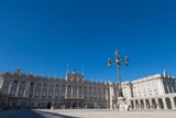 Plaza De La Armeria and the Palacio Real in Madrid  Spain  Europe