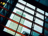 Modern Buildings at Canary Wharf  Docklands  London  England  United Kingdom  Europe