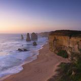 Twelve Apostles at Sunset  Port Campbell National Park  Great Ocean Road  Victoria  Australia