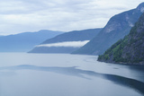 Aurlandsfjord  a Branch of Sognefjord Near the Small Town of Flam  Norway  Scandinavia  Europe