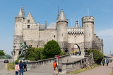 Het Steen  a Medieval Fortress in Antwerp  Belgium  Europe