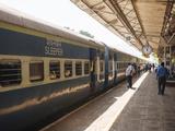 Karwal Train Station Platform  Goa  India  South Asia