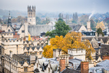 Magdalen College in Autumn  Oxford  Oxfordshire  England  United Kingdom  Europe