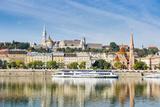 Panaorama Photo of Buda  Budapest  Hungary  Europe