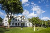 Presidential Palace  Paramaribo  UNESCO World Heritage Site  Surinam  South America