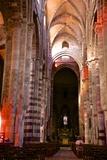 Nave and Columns  Haute Loire
