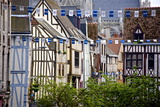 Half Timbered Norman Facades  Rouen  Normandy  France  Europe