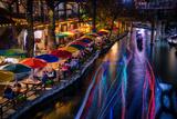 San Antonio Riverwalk  San Antonio  Texas  United States of America  North America