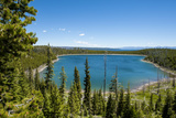 Duck Lake in Yellowstone National Park  Wyoming  United States of America  North America
