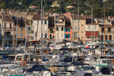 Boats Moored in the Harbour of the Historic Town of Cassis  Cote D'Azur  Provence  France  Europe