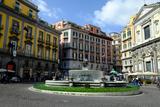 Artichoke Fountain  Trieste and Trento Square  Naples  Campania  Italy  Europe