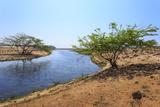 Tranquil Waters of Khor Rori (Rouri)  Oman
