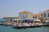 Spetses (Spetse) Town Harbour  Spetses  Saronic Islands  Attica  Peloponnese  Greece  Europe