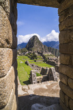 Machu Picchu Inca Ruins and Huayna Picchu (Wayna Picchu)  Cusco Region  Peru  South America