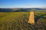 View from Mam Tor Hollins Cross  Derbyshire  England  United Kingdom  Europe