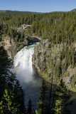 Upper Falls  Yellowstone National Park  Wyoming  United States of America  North America