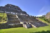 Castillo  Xunantunich Mayan Ruins  Near San Ignacio  Belize  Central America