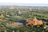 Early Morning Sunshine over the Terracotta Temples of Bagan  Myanmar (Burma)