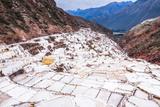 Salt Pans (Salinas De Maras)  Maras  Near Cusco (Cuzco)  Peru  South America