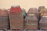 Crab Pots (Creels)  Newfoundland  Canada  North America