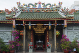 Nghia an Hoi Quan Pagoda  Cholon  Ho Chi Minh City (Saigon)  Vietnam  Indochina  Southeast Asia