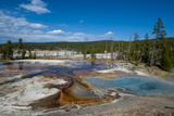 Firehole Spring  Yellowstone National Park  Wyoming  United States of America  North America