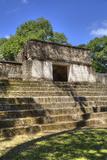 Mayan Arch  Entry to Plaza A  Cahal Pech Mayan Ruins  San Ignacio  Belize  Central America