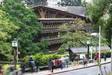 Beitou Wooden Library  Taipei  Taiwan  Asia