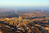 Balloon Flight over Goreme  Goreme  Cappadocia  Anatolia  Turkey