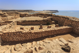 Sumhuram Ruins Overlooking Khor Rori (Rouri)  Oman