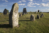 Viking Stone Ship Burial Ground of Gettlinge and Windmill  Sweden