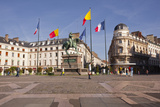 Place Du Martroi with the Statue of Joan of Arc in Orleans  Loiret  France  Europe