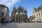 Prague Castle  UNESCO World Heritage Site  Prague  Czech Republic  Europe
