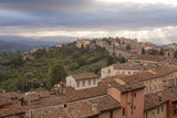 Storm Clouds Clearning over Perugia's Historic Centre  Perugia  Umbria  Italy  Europe
