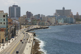 The Malecon  Havana  Cuba  West Indies  Caribbean  Central America