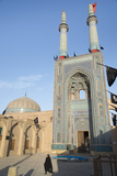 Jameh Mosque  Old City  Yazd  Iran  Western Asia