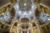 Interior of the St Nicholas Church  Mala Strana  Prague  Czech Republic  Europe