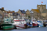 Fishing Boats and Harbour  Normandy