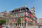 Antwerp City Hall  Antwerp  Belgium  Europe