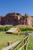 Gifford Farm House  Fruita  Capitol Reef National Park  Utah  United States of America