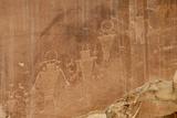 Fremont Petroglyphs  Capitol Reef National Park  Fruita  Utah  United States of America