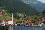 Lakeside Mosque  Uzungol Alpine Resort  Black Sea Coast Area  Trabzon Province  Anatolia  Turkey