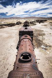Train Cemetery (Train Graveyard)  Uyuni  Bolivia  South America