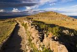 Amantani Islands (Isla Amantani) Seen from Pachamama (Mother Earth) Summit  Lake Titicaca  Peru