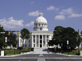 State Capitol Building in Montgomery  Alabama  United States of America  North America