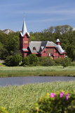 Halleviksstrands Kyrka Church  Halleviksstrand  Orust  Bohuslan Coast  Southwest Sweden  Sweden